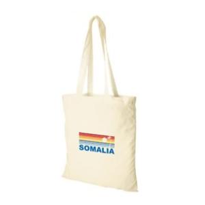 Kangaskassi Somalia-aiheella.